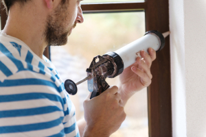 window-caulking